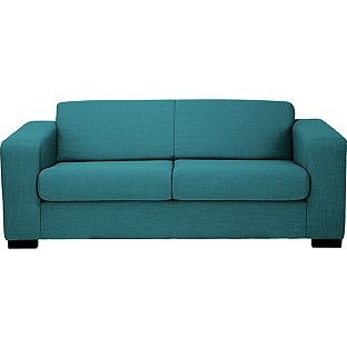 Buy Hygena New Ava Large Fabric Sofa - Teal at Argos.co.uk, visit Argos.co.uk to shop online for Sofas