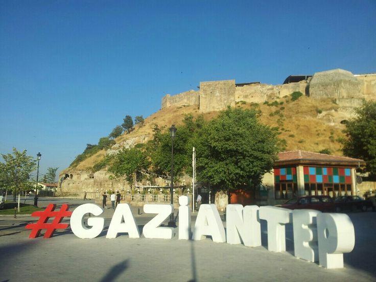Türkiye konumunda Gaziantep