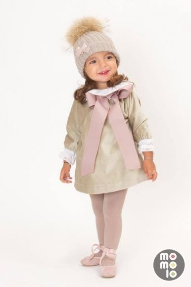 MOMOLO | fashion kids |  Bonnet Casilda y Jimena, Dresses Casilda y Jimena, Tights Casilda y Jimena, Ballerina Shoes Casilda y Jimena, girl, 20140119081743