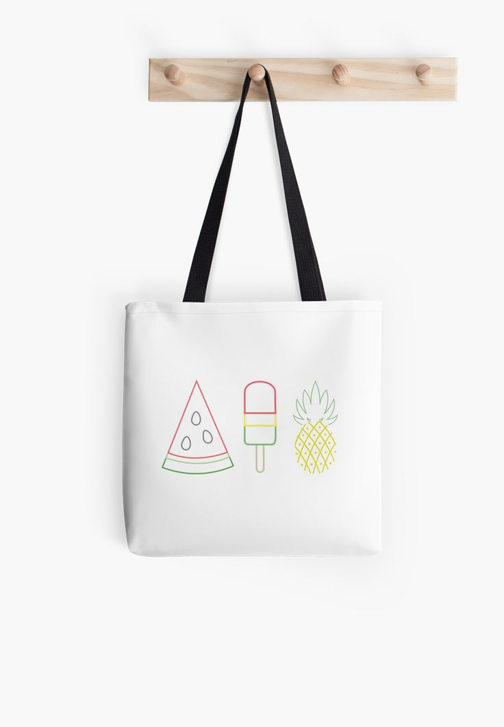Summer Fruit Mix by GeometricLove - Enjoy the summer trifecta! Watermelon Popsicle and Pineapple, what could be more summer?!