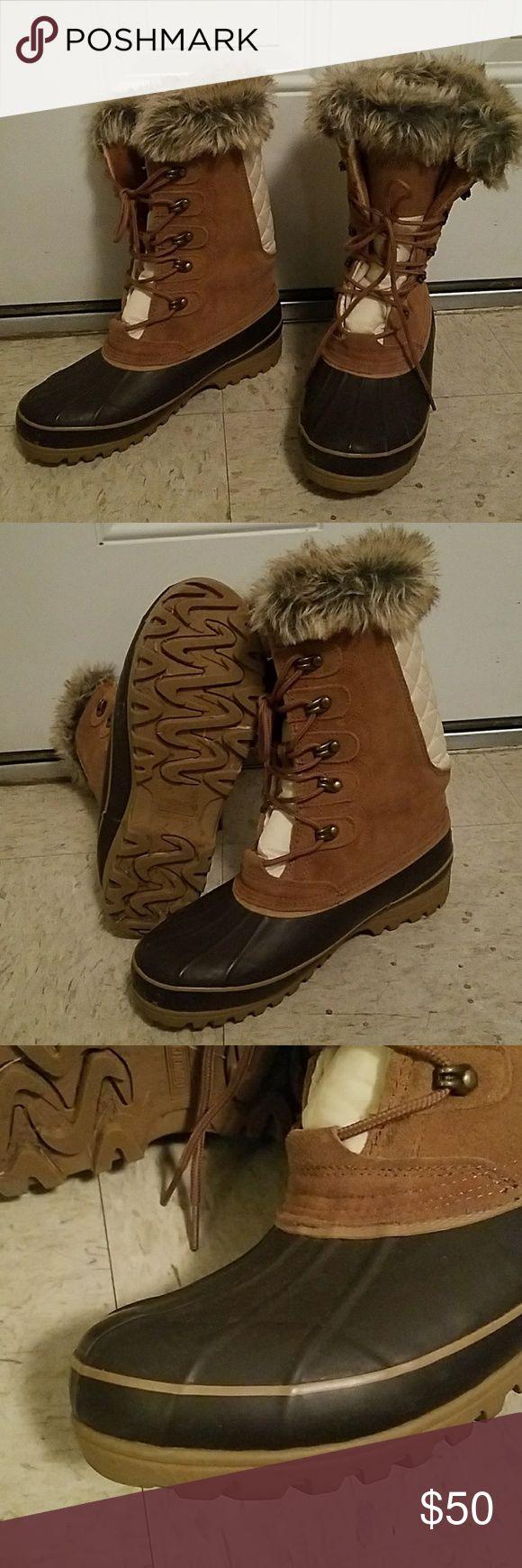 KHOMBU BOOTS GOOD CONDITION KHOMBU BOOTS Khombu Shoes Winter & Rain Boots