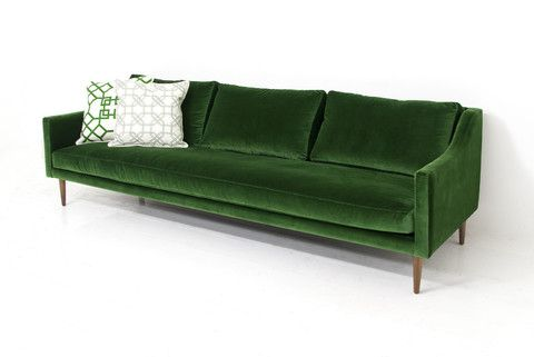Modern Italian styling meets our eclectic sensibility with the new Naples sofa. The thin frame and luxurious cushions means this sofa carries a light and airy
