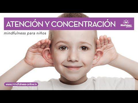 Relajación para niños: mejorar la atención y la concentración - YouTube