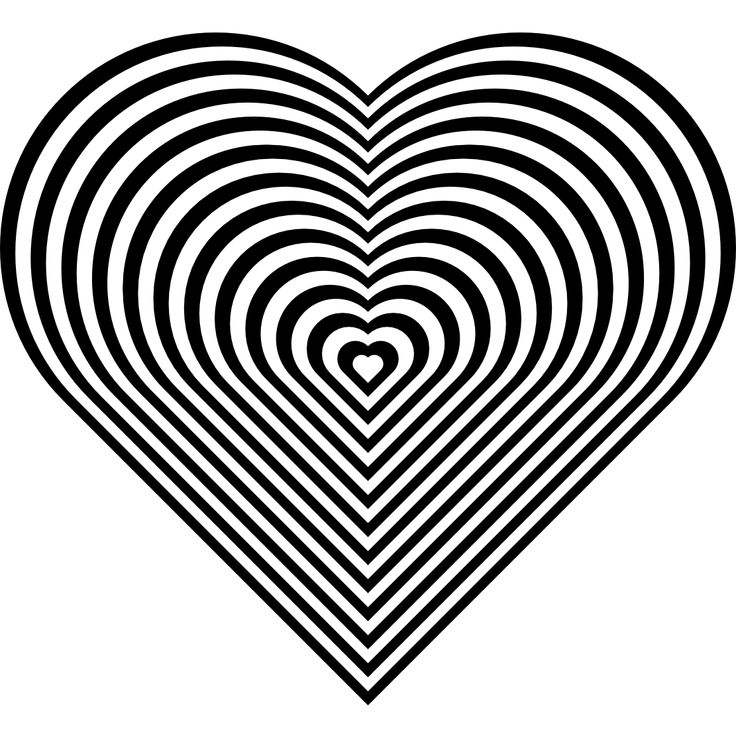 zebra print heart coloring pages - photo #9