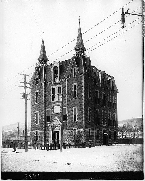 Western Hospital, Atwater and Dorchester.  Building demolished
