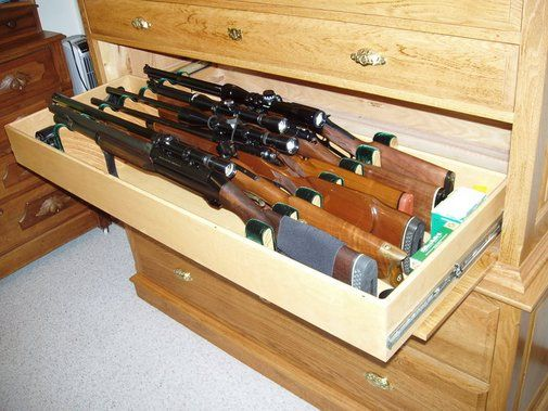 How To Make A Cheap Budget Gun Hunting Rifle Cabinet Rack For Do It ...