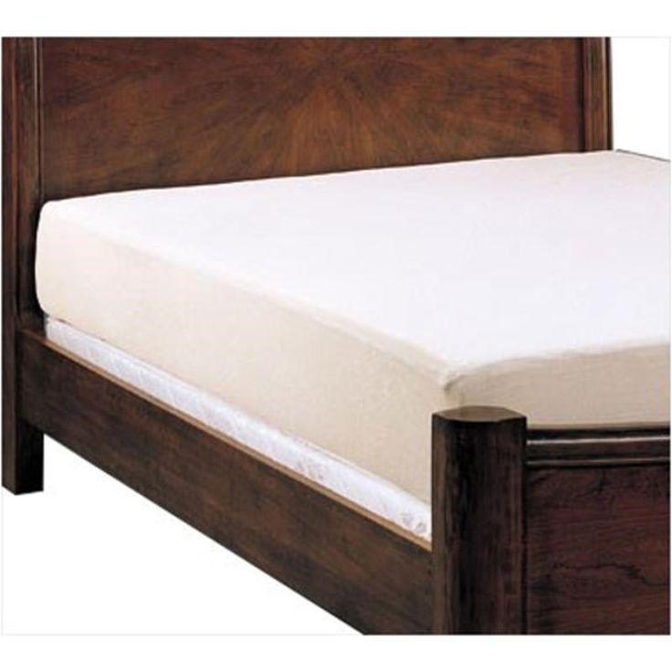 """Coaster Furniture 1002KW 10"""" Cal King Mattress in White"""