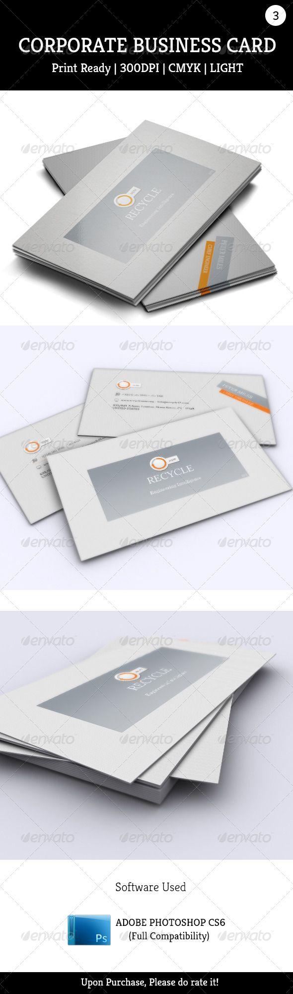 Ms de 25 ideas increbles sobre standard business card size en corporate business card 003 magicingreecefo Image collections