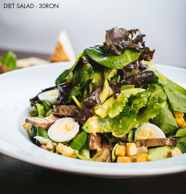 Diet Salad - for the body conscious ladies and the physical 'perfection'-seeking gentlemen