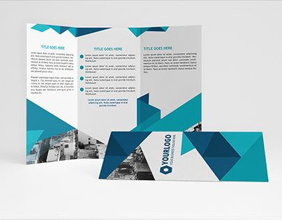 """Check out new work on my @Behance portfolio: """"Blue Sky Trifold Brochure"""" http://on.be.net/208WOBl"""