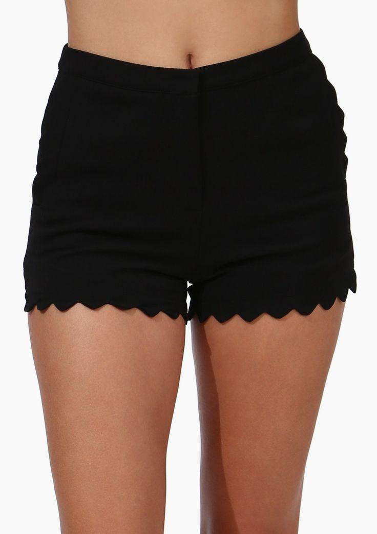 zig zag shorts