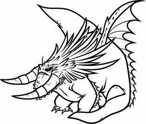How To Draw The Bewilderbeast From Train Your Dragon 2 Step 11