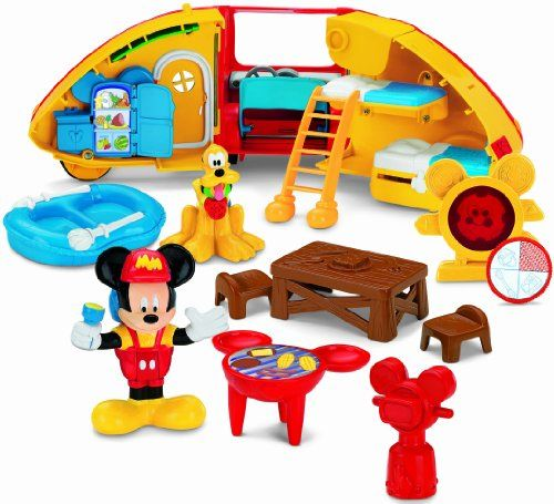 Toys For Age 2 : Fisher price disney s mickey mouse camper playset toys