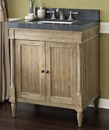 Photo Gallery For Photographers Cellar powder room Fairmont Designs Rustic Chic Vanity