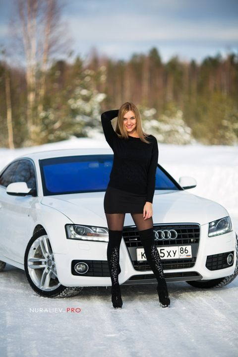 Audi A5 Coupe & Model  Whips & Chicks  Pinterest Audi