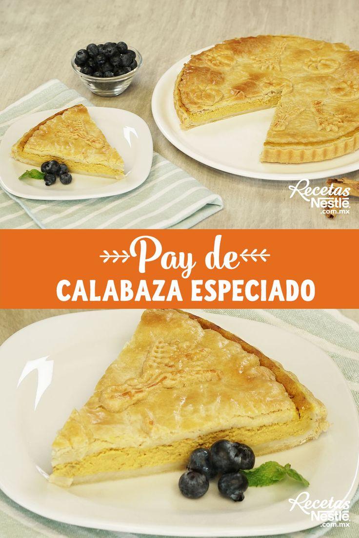 ¡Uff! Sabemos que te encanta la #CALABAZA Por eso tienes que preparar este delicioso #PAY Diabetes, Ethnic Recipes, Food, Cake Recipes, Easy Recipes, Cookies, Food Cakes, Essen, Meals
