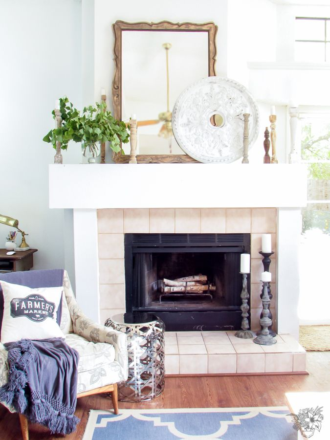 176 best Fireplace Mantle Ideas images on Pinterest Fireplace