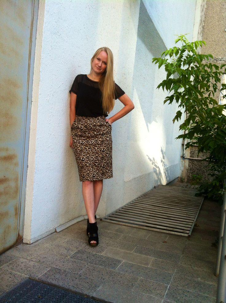 Леопардовая юбка / Фотофорум / Burdastyle