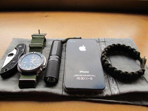 :) Man essentials.