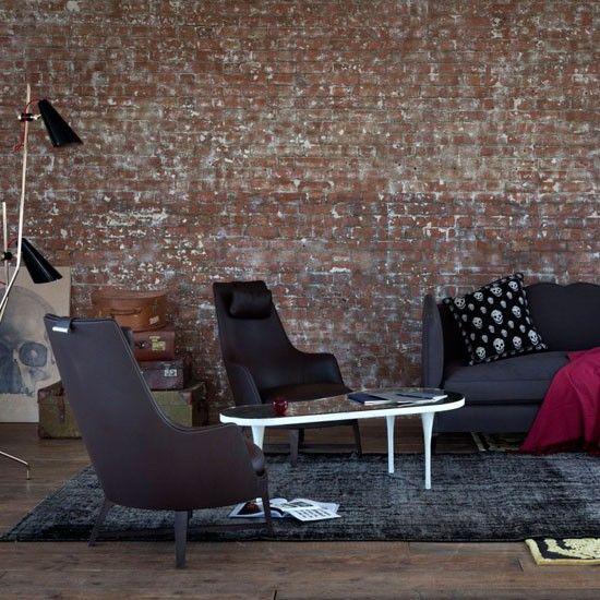 Gothic-inspired living room