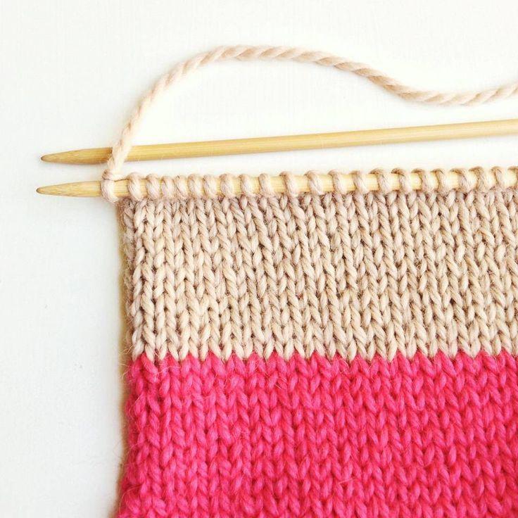 camel & coral by sheepish knitting and crotchet