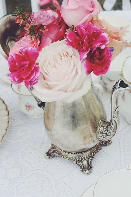 Garden vintage tea party