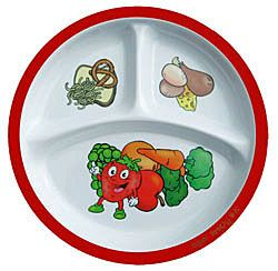 Healthy Kids Plate!  The best plate out there to teach kids about eating healthy!