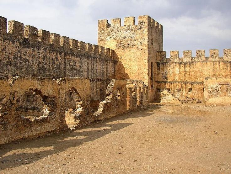 Frangokastello fort, Greece