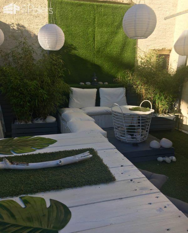 Elegant Garden Lounge Set | DIY Outdoor Living | Lounge ...