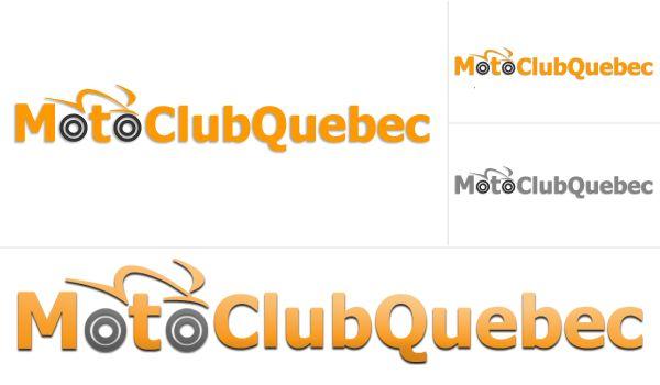 Restyling logo Moto Club Quebec