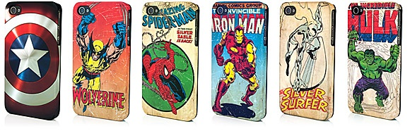 Marvel Collector's Edition iPhone 4 Clip Cases...MUST.HAVE. IRON MAN!