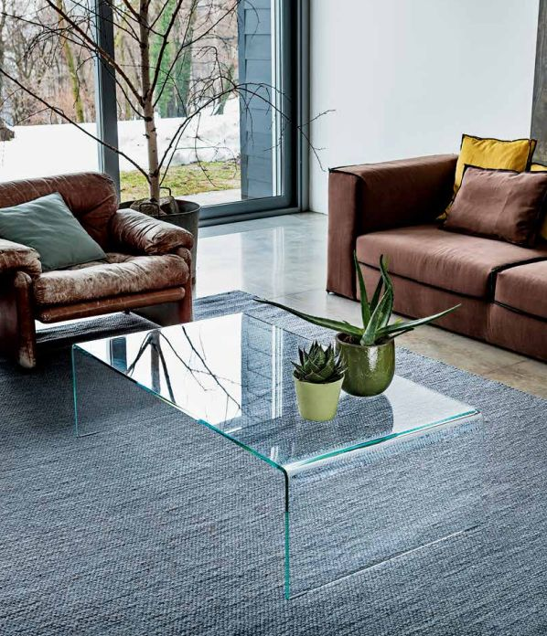 Directly from catalog 2013: Bridge table #glassdesign #design #interiordesign
