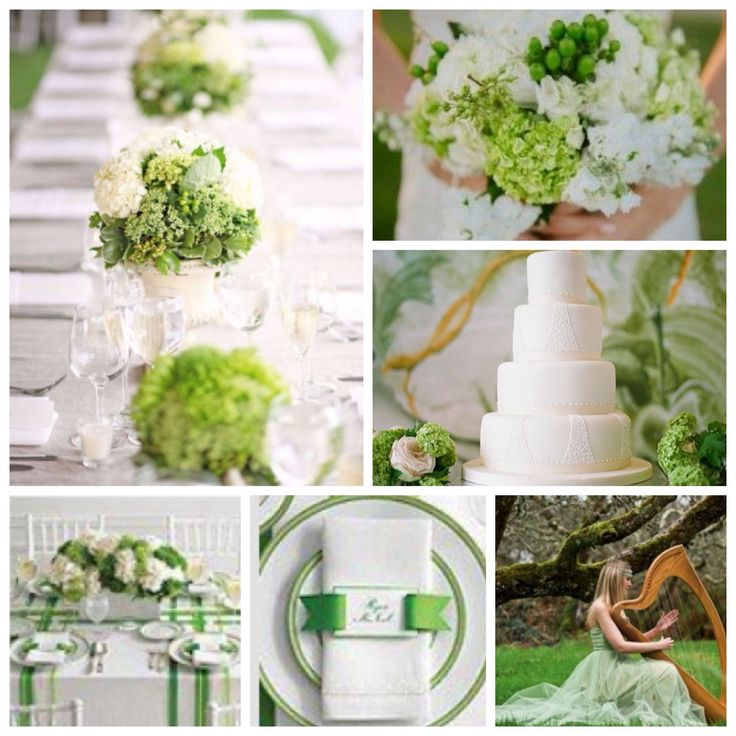 Saint Patrick's Day - Clovers & Greens - Wedding Themed Details - 2015