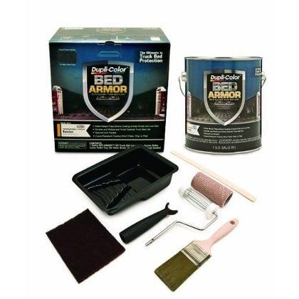 Dupli-Color BAK2010 Bed Armor DIY Truck Bed Liner with Kevla - Black