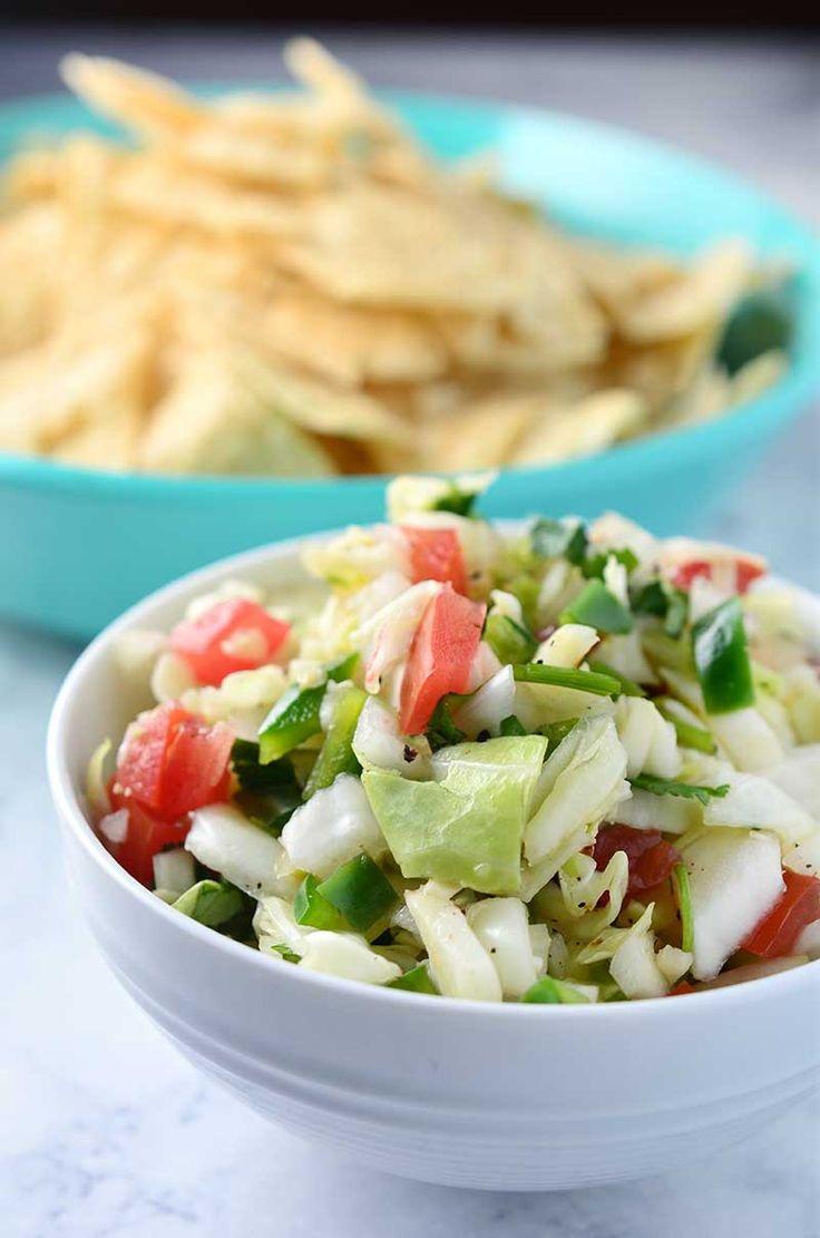 Cabbage Salsa - Life's Ambrosia