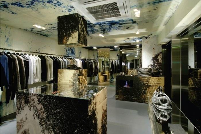 Raf Simons Store in Japan