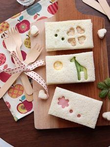 可愛い♪型抜きサンドイッチ。 by 栁川かおり / レシピサイト「Nadia | ナディア」プロの料理を無料で検索