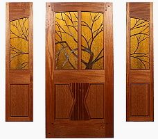 Custom Wood Doors by Mendocino Doors ~ Exterior and Interior ~ Door Gallery ~ Page 1