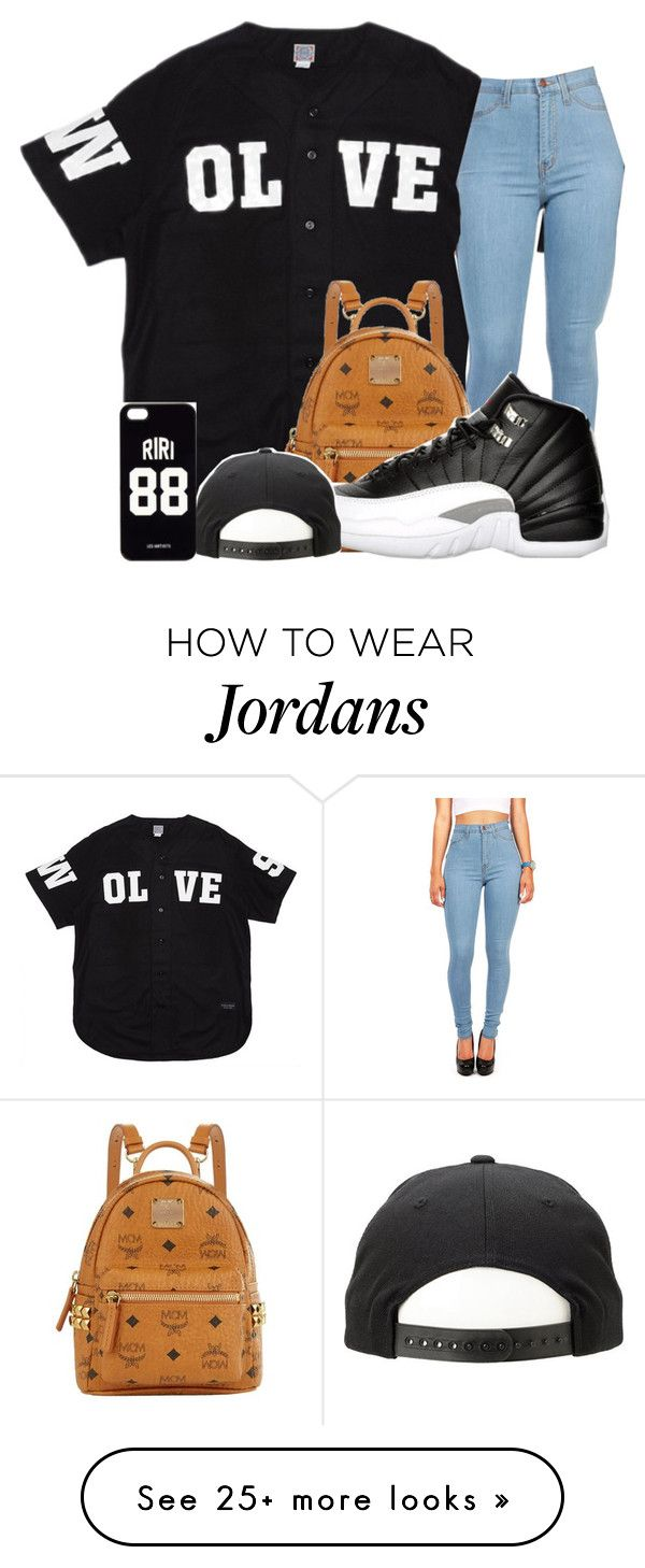 """""""Jealous-Kehlani"""" by alleyy on Polyvore featuring Ebbets Field Flannels, MCM, Retrò and LES (ART)ISTS"""