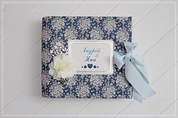 Personalized Guest Book Wedding Photo Album 5x7 Photo Album