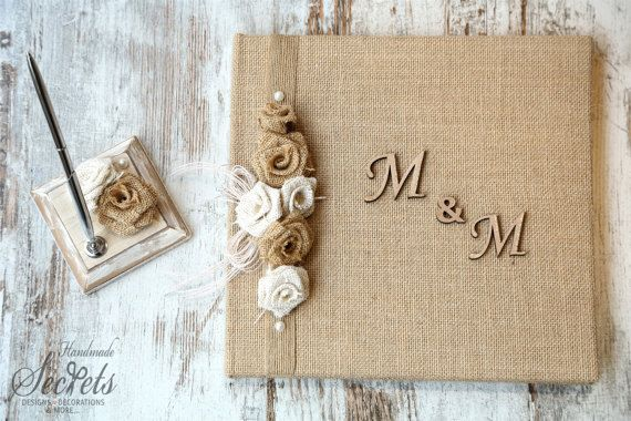 Wedding Wish Book, Personalized Wish Book, Vintage Wish Book, Handmade Wish Book, Wedding Decoration, Vintage Book, Handmade  Wish Book