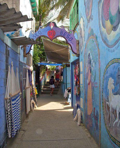 Paseo del Beso ~ Bucerias Riviera ~  Nayarit, Mexico