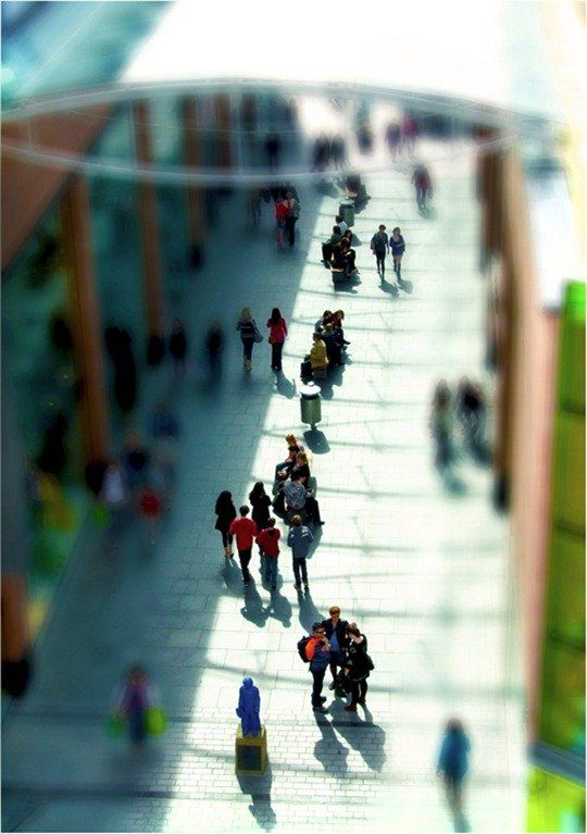 30 Amazing Examples of Tilt-Shift Photography