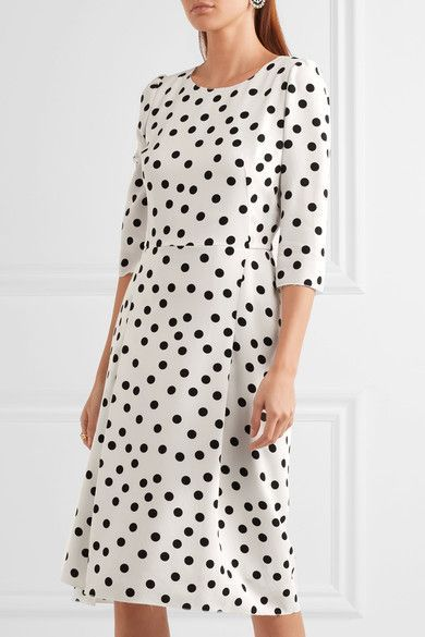 White and black cady Concealed zip fastening along back  100% viscose; lining: 86% silk, 8% cotton, 4% elastane, 2% polyamide Dry clean Made in Italy