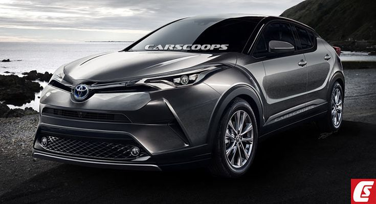 Future Cars: Toyota's New C-HR Hybrid Crossover