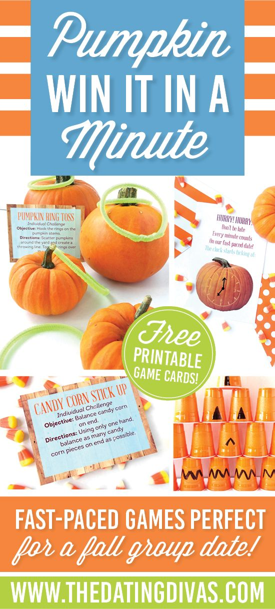 If you love Minute to Win It party games, you HAVE to check out this fun fall or…