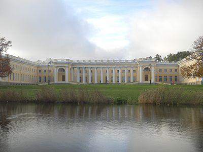 Alexander Palace, Tsarskoe Selo | PALACES, CASTLES ...