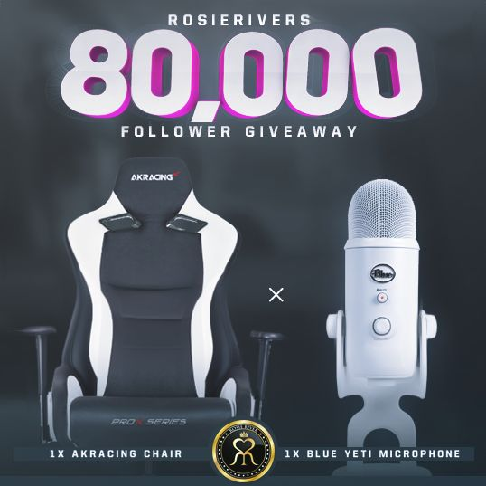 Rosie River - Win an AKRacing Gaming Chair & Blue Yeti USB Mic - http://sweepstakesden.com/rosie-river-win-an-akracing-gaming-chair-blue-yeti-usb-mic/