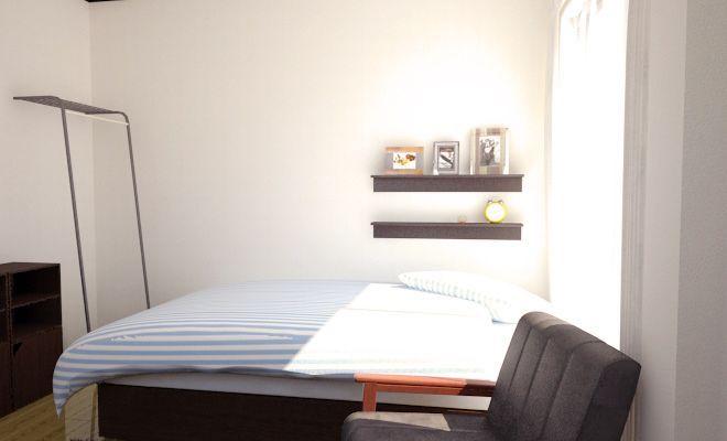 ベッド周りのイメージ