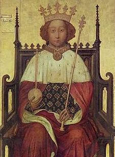 Richard II (1367 - 1400). Prince of Wales from 1376 to 1377, when he became king. He married twice but had no children. He was deposed and murdered by his cousin, Henry IV.